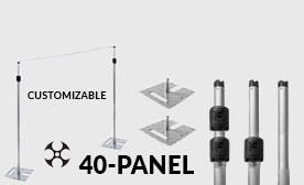 Versatop™ 2.0® 40 Panel Kits (280-480 Feet Wide)