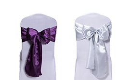 Deco Satin Chair Sashes