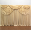 Premium Double Valance 2 Panel Backdrop