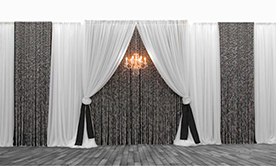 Premium Mixed Custom 3 Panel Backdrop