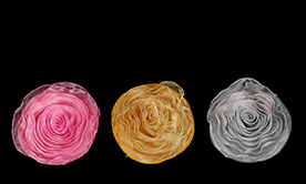 Pin-able Fabric Flowers
