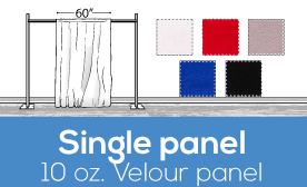 "10oz Performance  Velour Panels - 60"" Wide"