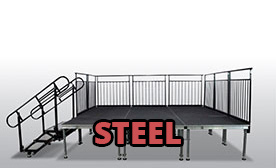 Portable Steel Stages