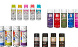 Spray Paints & Adhesive