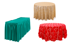 Table Linens & Table Skirts