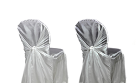 Universal-Fit Taffeta Wrap Chair Covers