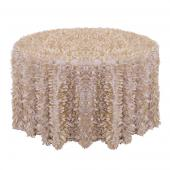 Champagne - Gatsby Designer Tablecloths - Many Size Options