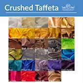 "*FR* Extra Wide 6ft Tall Crushed Taffeta Drape Panel by Eastern Mills 9 1/2 FT Wide w/ 4"" Sewn Rod Pocket in Choice of 28 Colors!"
