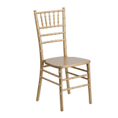 EnvyChair™ Elegant Wood Chiavari Chair - Gold