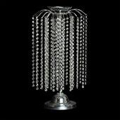 "Decostar™ Crystal Waterfall Chandelier Table Top Centerpiece 24"" - 2 Pieces - Silver"