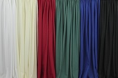 "Poly Satin (Poly PLUS) Fabric by the Yard - 60"" Wide"