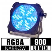 RGBA Flat Par LED Light for Stages, Backdrops and Event Lighting
