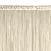 String Curtain - 6.6ft Wide x 10ft Tall - 1700 Strings - IVORY