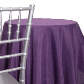 Grape - Designer Fiesta Linen Broad Tablecloth - Many Size Options