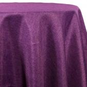Grape - Designer Fiesta Linen Broad Tablecloth by Eastern Mills - Many Size Options