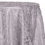 Grey - Elegant Sheer Overlay - Many Size Options