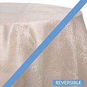 Ice - Extravagant A Tablecloths - DOUBLE-SIDED - MANY SIZE OPTIONS