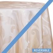 Ivory - Laura Designer Tablecloths - Many Size Options