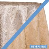 Ivory - Martinique Designer Tablecloths - Many Size Options