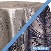 Navy - Stormy Tablecloths - DOUBLE-SIDED - MANY SIZE OPTIONS