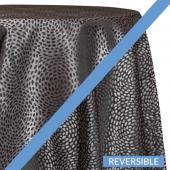 Onyx - Droplets Designer Tablecloths - Many Size Options