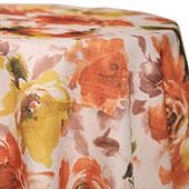 Orange - Renoir Tablecloths - MANY SIZE OPTIONS