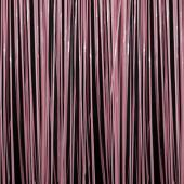 Pink - Plastic Wet Look Fringe Table Skirt - Many Size Options