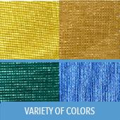 14 Ft. Poly Knit Table Skirting-In Choice of Colors-39 In. Long-Web Backing