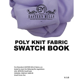 Poly Knit Fabric Swatch Book by Eastern Mills  - All Poly Knit Products