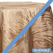 Rose Gold - Stormy Tablecloths - DOUBLE-SIDED - MANY SIZE OPTIONS