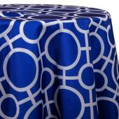 Royal - Roundabouts Designer Tablecloths - Many Size Options