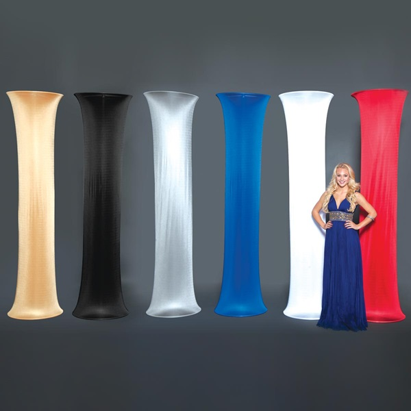 Column Fabric Decorative Column Covers Event Supply