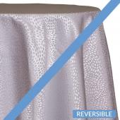 Silver - Droplets Designer Tablecloths - Many Size Options
