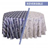 Sky Blue - Marble Designer Tablecloths - Many Size Options