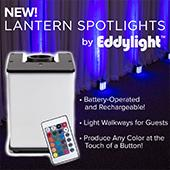 LED DMX Battery Powered Lantern / Spotlight- RGBW