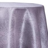 Steel - Designer Mardi Gras Linen Broad Tablecloth w/ Brushed Metallic Finish - Many Size Options