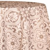Stone - Sophia Designer Tablecloths - Many Size Options