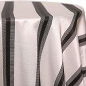 Stripe - Tuxedo Tablecloths - MANY SIZE OPTIONS