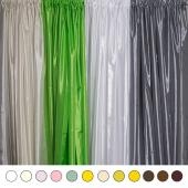 "*FR* Extra Wide 8ft Tall Crushed Taffeta Drape Panel by Eastern Mills 9 1/2 FT Wide w/ 4"" Sewn Rod Pocket in Choice of 28 Colors!"