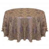 Taupe - Imperial Designer Overlay by Eastern Mills- Many Size Options