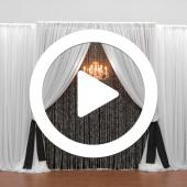 Three Panel Deluxe Backdrop - Instructional Video