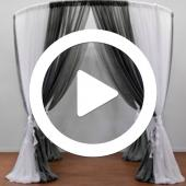 Two-Tone Round Canopy - Instructional Video