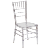 Crystal EnvyChair™ Elegant Resin Chiavari Chair - Ice